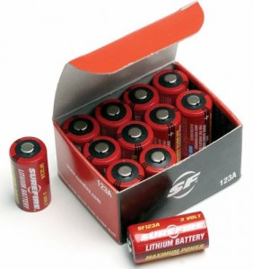 SureFire Lithium battery box