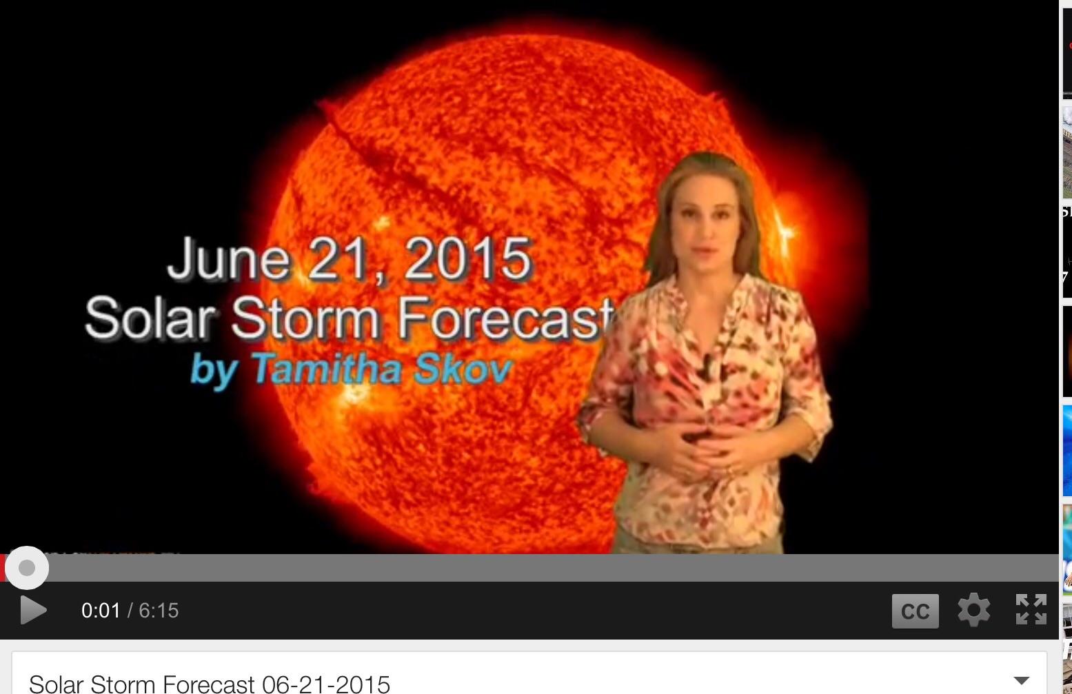 solar storm update news - photo #25