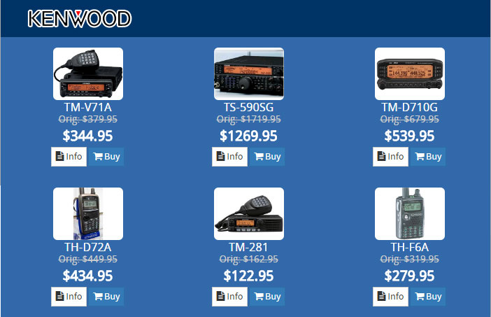 kenwood HRO Dayton Sale